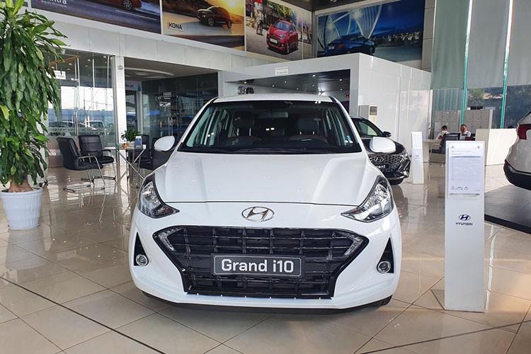 Lo dien Hyundai Grand i10 2021, ban cu thanh ly tu 300 trieu dong