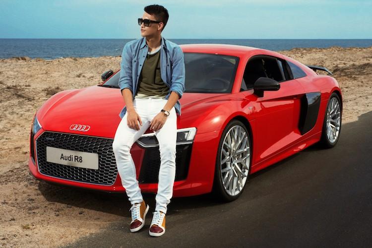 """Soi Audi R8 hon 13 ty ma Cong Vinh """"vua sao ke"""" tung do dang"""