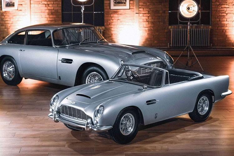 Aston Martin DB5 Junior - sieu xe diep vien