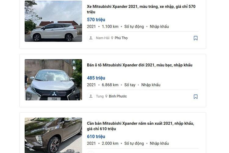Mitsubishi Xpander dua nhau len san xe cu, gia re co dang dau tu?-Hinh-2