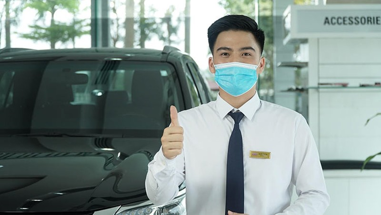 Toyota cai tien chat luong dich vu, Khach hang an tam chong dich
