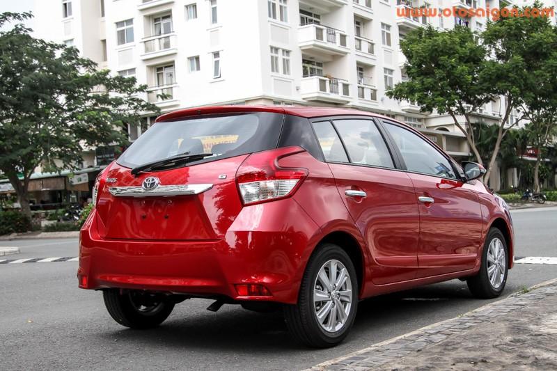 Xe Toyota Yaris 2014 nhap tu Thai Lan hut khach Viet Nam-Hinh-2