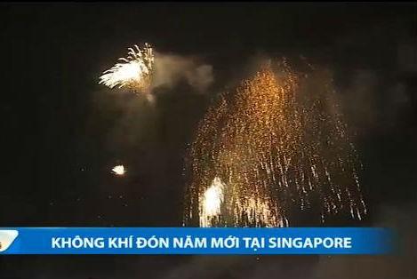 Man phao hoa ky ao chao nam moi 2015 o Singapore