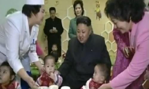 Video: Ong Kim Jong-un tham trai tre mo coi