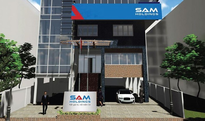 Sam Holdings du kien huy dong 300 ty dong trai phieu, lai suat 11%/nam