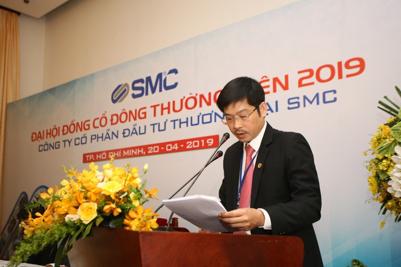 SMC tam ung co tuc 5%, mien nhiem Thanh vien HDQT Vo Hoang Vu