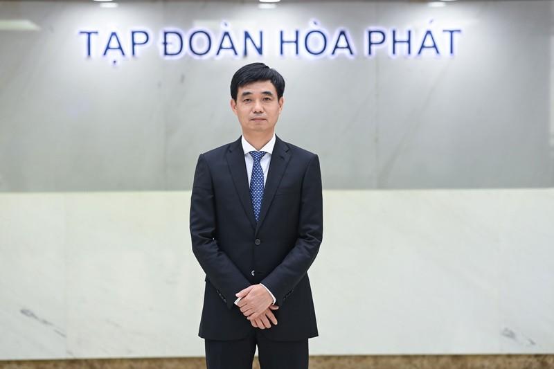 Tap doan Hoa Phat bo nhiem Tong Giam doc moi