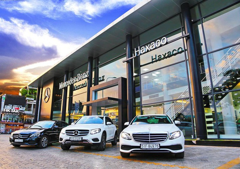 Don vi phan phoi Mercedes-Benz (Haxaco) bao lai quy 2 giam 27%