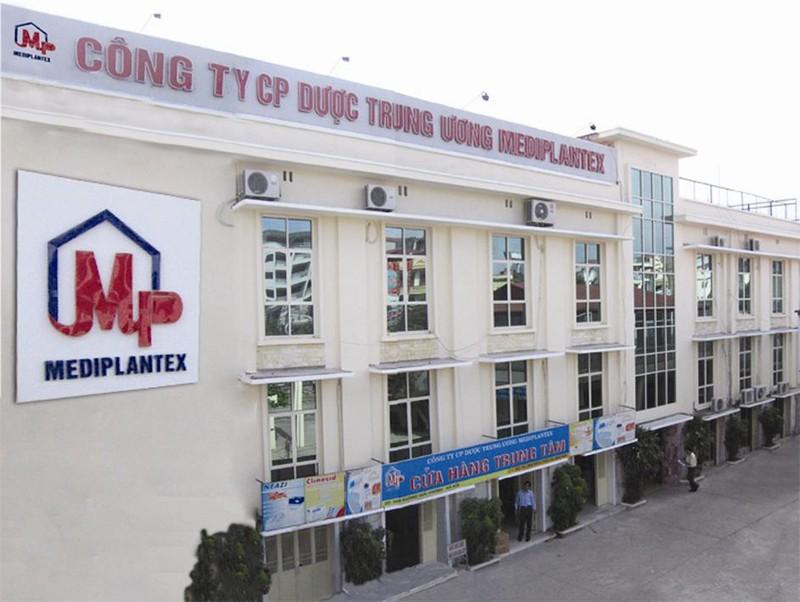 Duoc Trung Uong Mediplantex bi xu phat 300 trieu dong