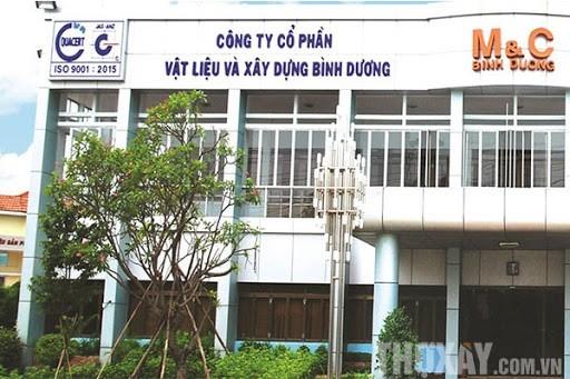 Sep VLXD Binh Duong thoai 13,4 trieu co phieu MVC khi tang manh