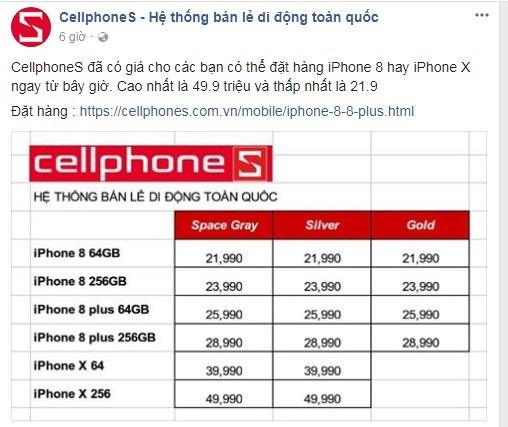 "Lo gia ""tren troi"" cua iPhone X, iPhone 8/8 Plus xach tay ve Viet Nam-Hinh-2"