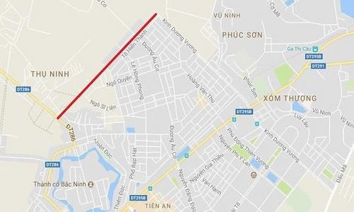 Pho Thu tuong yeu cau lam ro vu doi gan 100 ha dat lay 1,3km duong