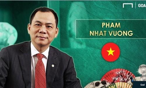 Ty phu Pham Nhat Vuong lot top