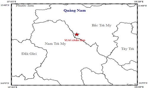 Lai xay ra dong dat gan thuy dien Song Tranh 2