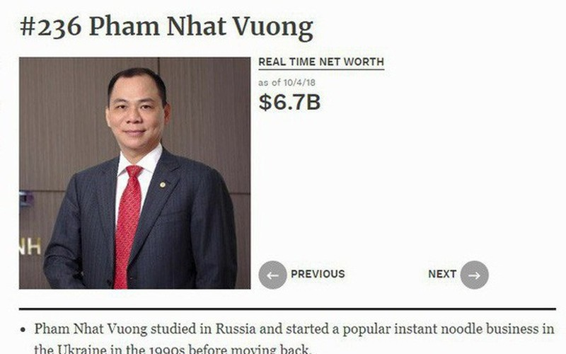 Tai san ty phu Pham Nhat Vuong the nao sau khi