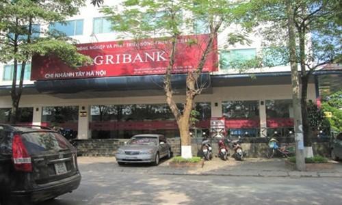 Ro tin don pha san, Ngan hang Agribank len tieng phu nhan