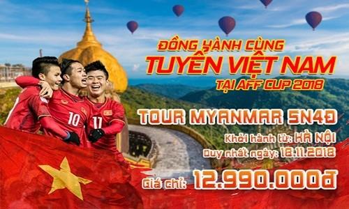 Sang Myanamar co vu doi tuyen Viet Nam, gia tour the nao?