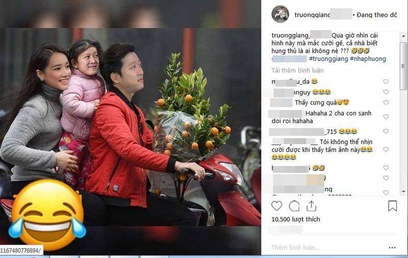 "Truong Giang doi truy lung ""hung thu"" che anh Nha Phuong sinh con"