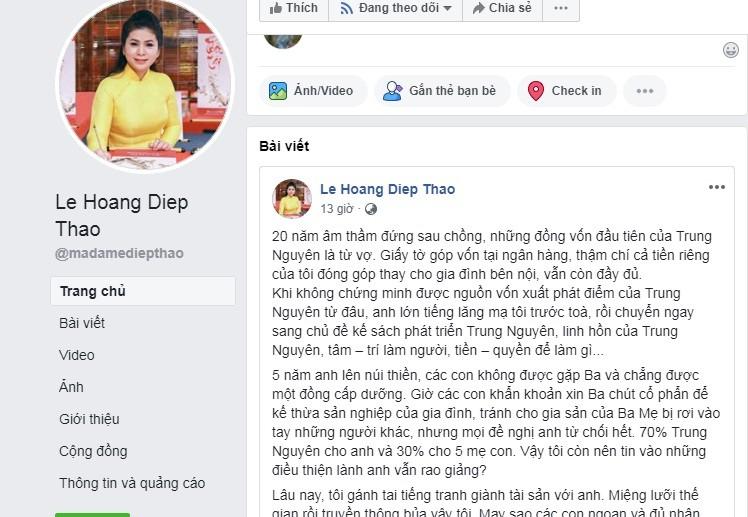 Ba Le Hoang Diep Thao tam su chua xot sau phien toa
