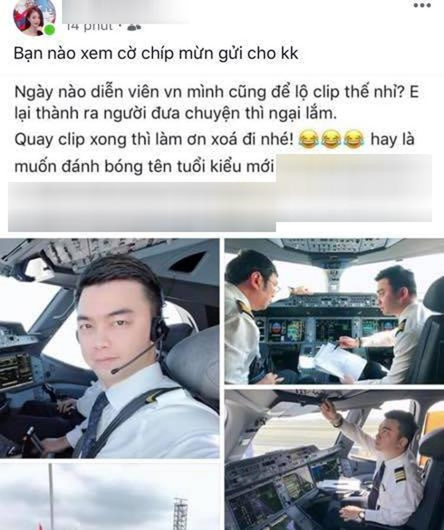 Phi cong Ha Duy len tieng ve thong tin lo clip nong