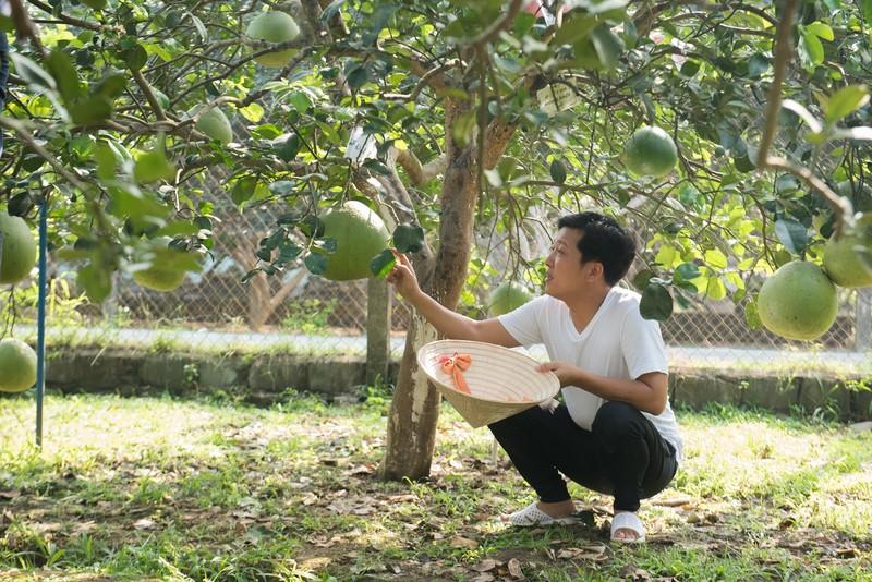 """Phat sot hinh anh Truong Giang """"ban buoi kiem com""""-Hinh-2"""