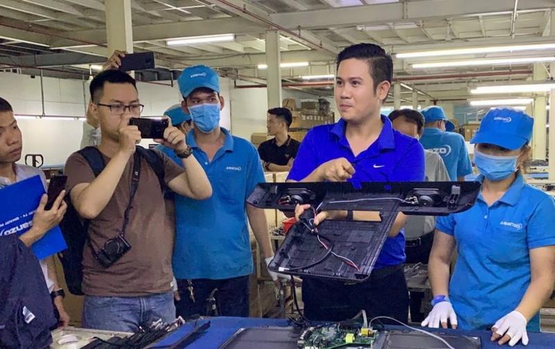 CEO Asanzo Phan Van Tam noi gi giua nghi van hang Trung Quoc gan mac Viet?
