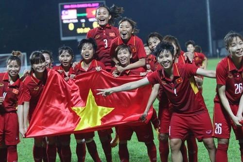 Thuong 22 ty dong sau SEA Games 30, tuyen nu Viet Nam duoc chia bao nhieu?