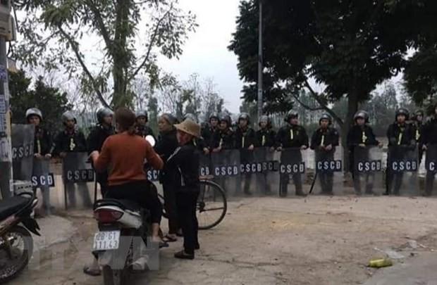 Bo Cong an noi ve vai tro cua ong Le Dinh Kinh trong vu an Dong Tam