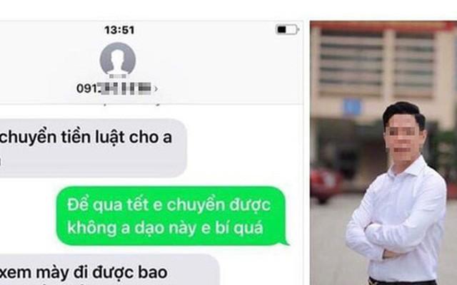Dang xac minh Pho phong Canh sat kinh te Cao Bang bi to thu tien bao ke xe