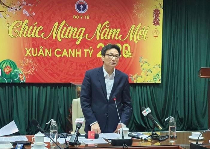 Virus corona viem phoi cap tham nhap Viet Nam: Pho Thu tuong chi dao khan