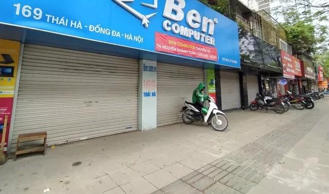 "Bat chap ""lenh dong cua"", nhieu quan ca phe o Ha Noi van tap nap khach-Hinh-8"