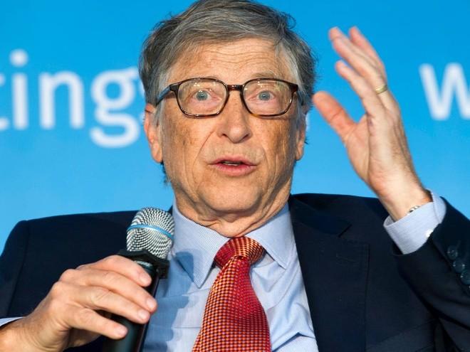 Ngoai lam tu thien, Bill Gates con tieu