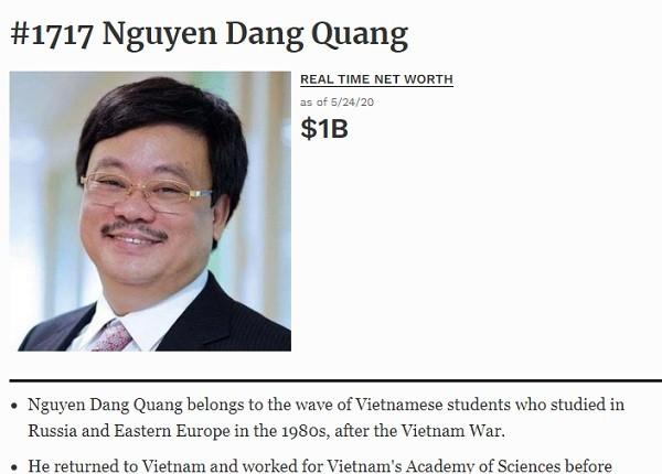 Tai san ong chu Hoa Phat, Masan tang bao nhieu...lai thanh ty phu Forbes?