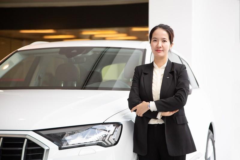Chan dung bong hong 8X lam Pho Tong giam doc Audi Viet Nam