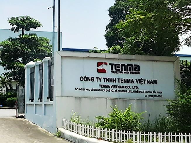 Bac Ninh thong tin vu nghi dua hoi lo o Cong ty Tenma