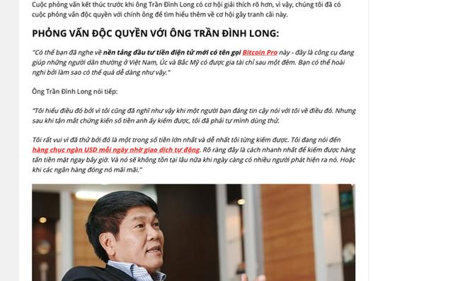 """Gia ong Pham Nhat Vuong keu goi dau tu bitcoin: """"Bon cu soan lai""""?"""