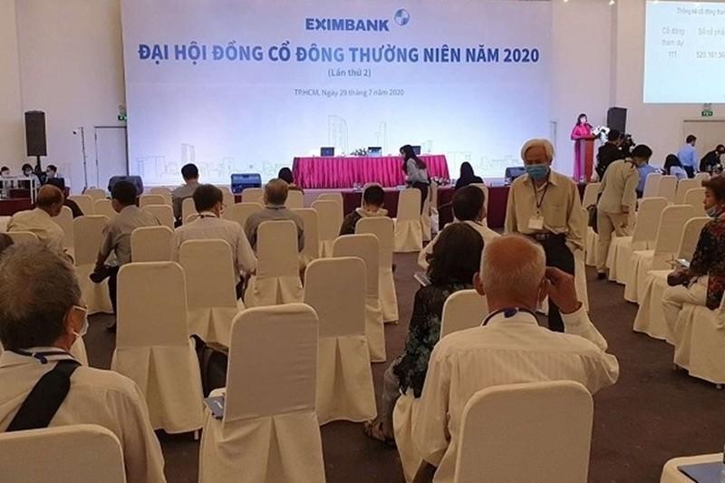 Dai hoi co dong Eximbank nam 2020 lan 2 tiep tuc bat thanh