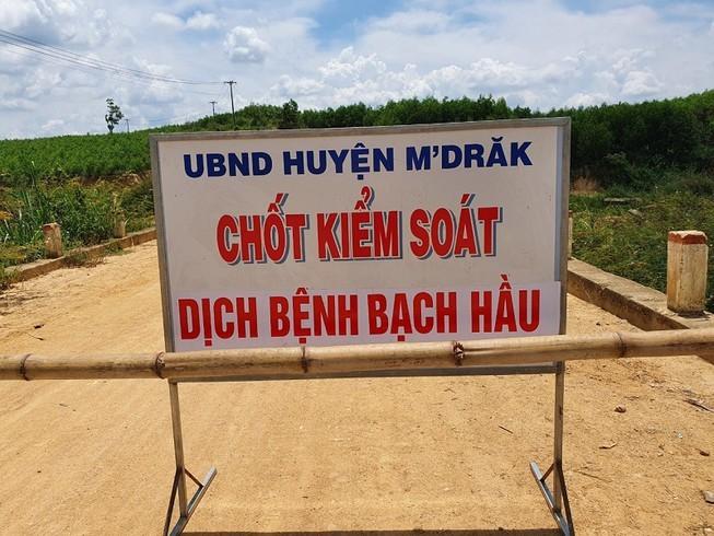 Dak Lak: 33 truong hop duong tinh voi bach hau