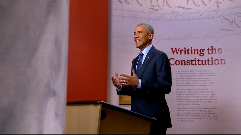 Ong Obama xung tran ngoan muc
