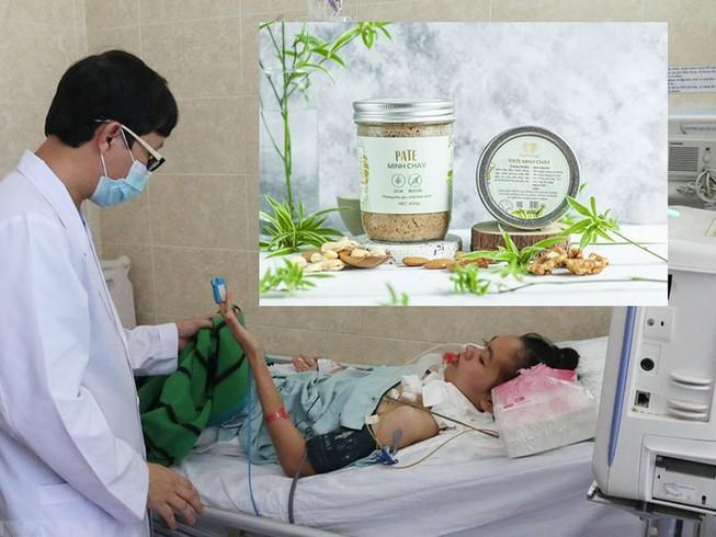 Rao riet thu hoi san pham pate Minh Chay