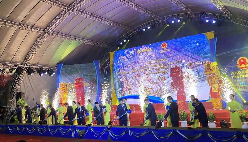 Sun Group khoi cong du an du lich sinh thai Sam Son hon 1 ty USD