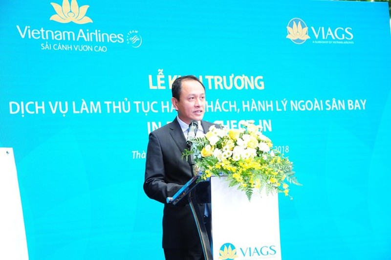 Vietnam Airlines thay Tong giam doc