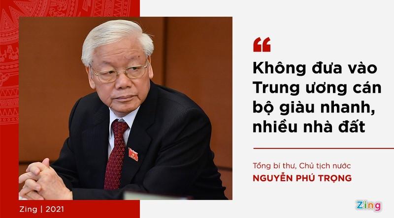 Phat ngon cua Tong bi thu ve lua chon nhan su khoa XIII-Hinh-12