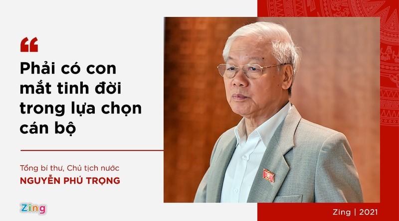 Phat ngon cua Tong bi thu ve lua chon nhan su khoa XIII-Hinh-13