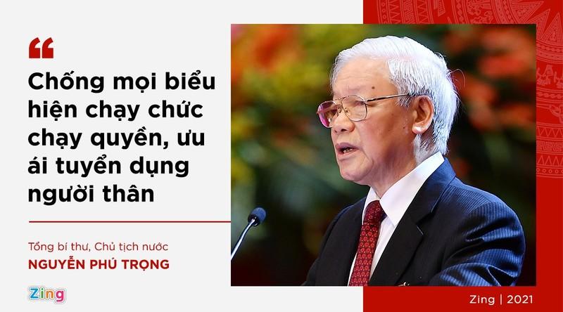 Phat ngon cua Tong bi thu ve lua chon nhan su khoa XIII-Hinh-2