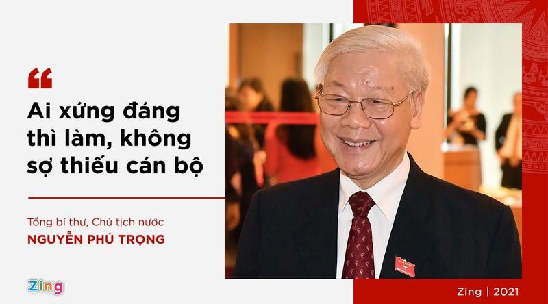 Phat ngon cua Tong bi thu ve lua chon nhan su khoa XIII-Hinh-4