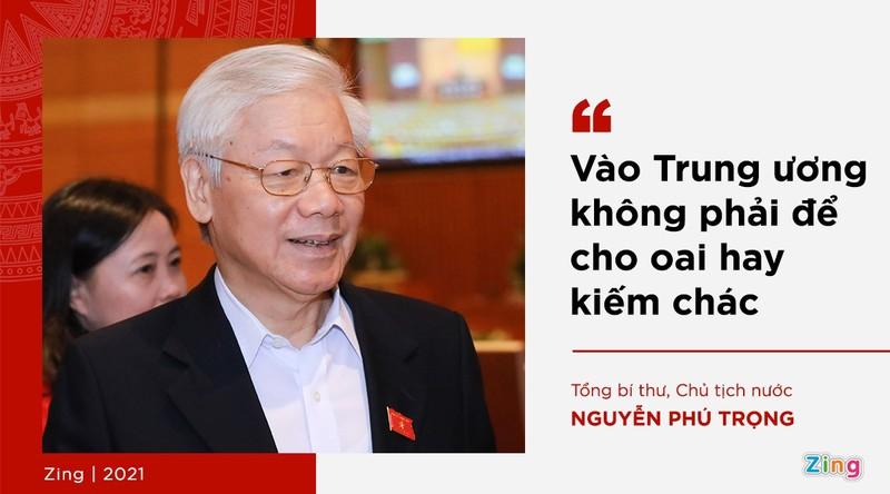 Phat ngon cua Tong bi thu ve lua chon nhan su khoa XIII-Hinh-5