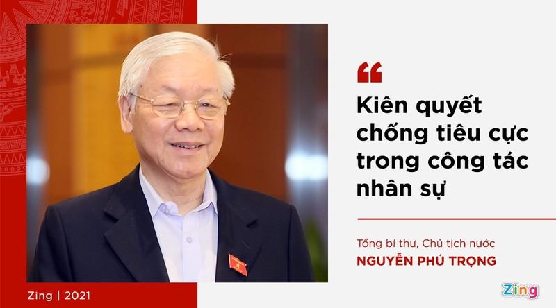 Phat ngon cua Tong bi thu ve lua chon nhan su khoa XIII-Hinh-8
