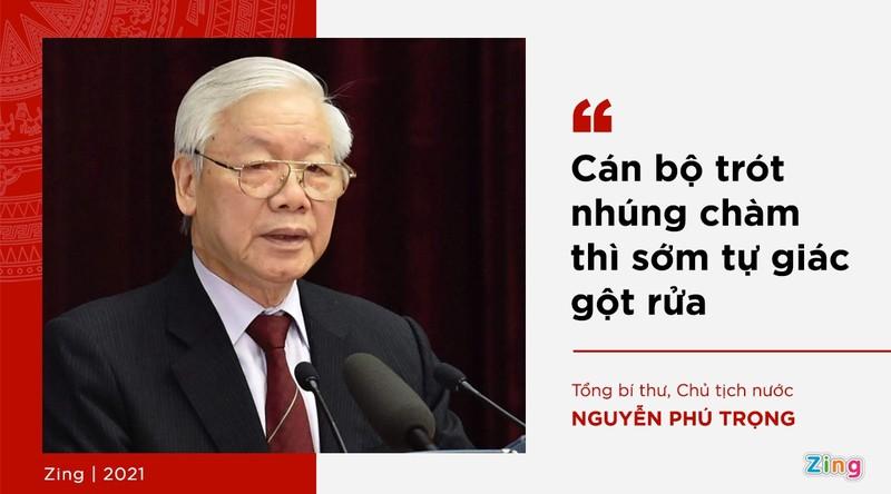 Phat ngon cua Tong bi thu ve lua chon nhan su khoa XIII