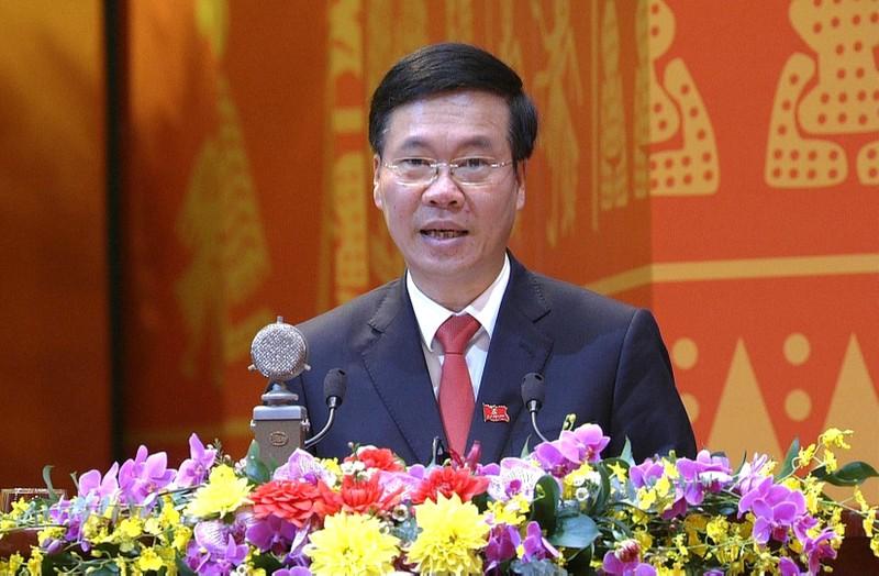 Be mac Dai hoi Dang lan thu XIII: Phat bieu cua dong chi Vo Van Thuong